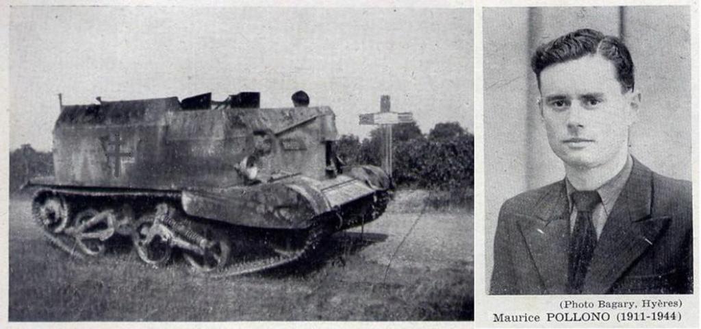 Vehicules recuperes par les FFI -1944 082