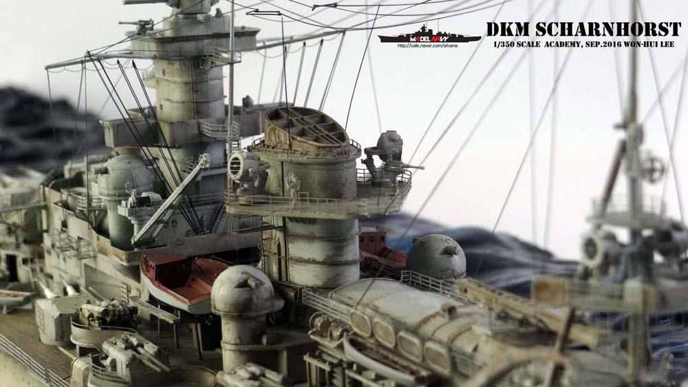 Les dioramas de Won-hui Lee au  1/350e 1-350s15