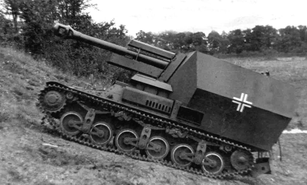 Canon fixe sur chassis de char - Page 2 105mm-10