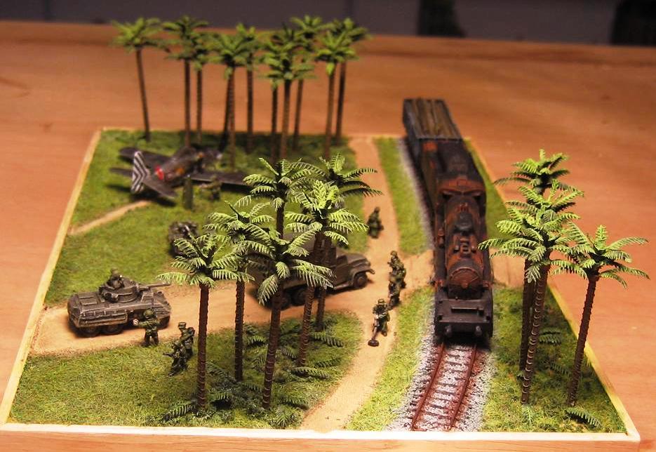 Les dioramas d autres epoques de Carlos Briz 1958-210