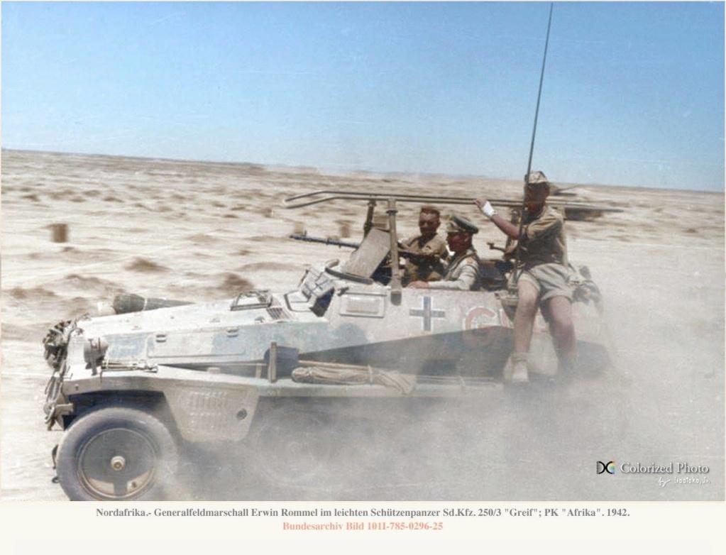 Les vehicules de Commandement de Rommel 211