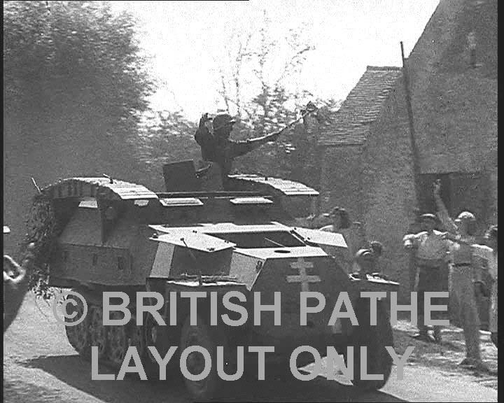 Vehicules recuperes par les FFI -1944 251cap10