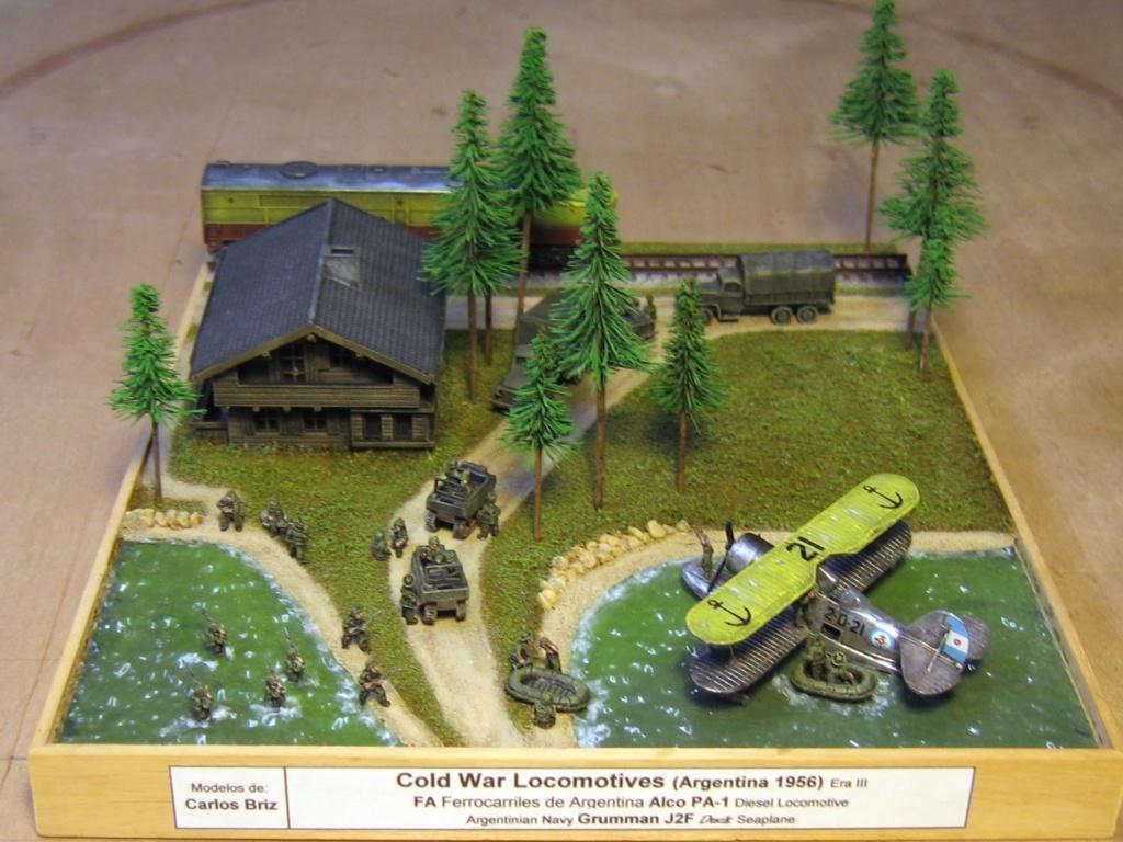 Les dioramas d autres epoques de Carlos Briz 411