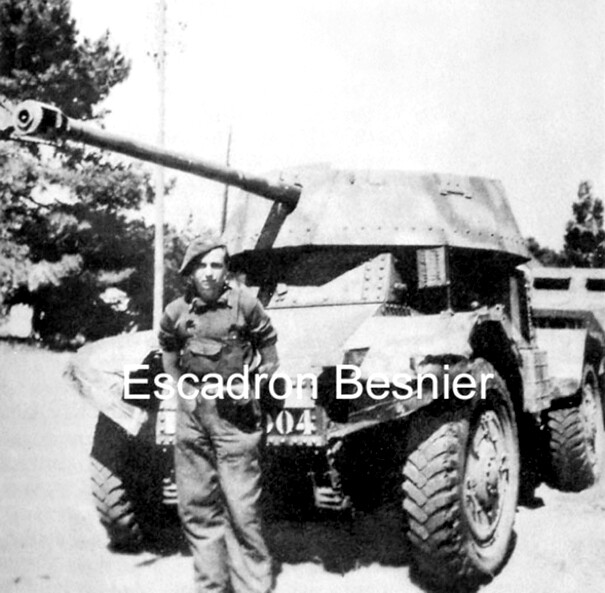 Vehicules recuperes par les FFI -1944 5cm10