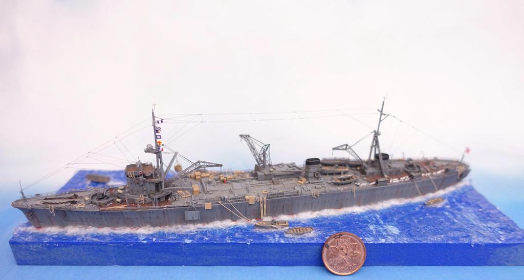 Diorama 1/700e Akashi16
