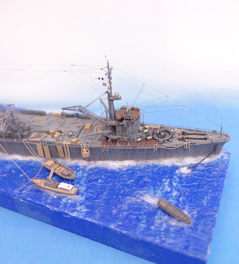 Diorama 1/700e Akashi17