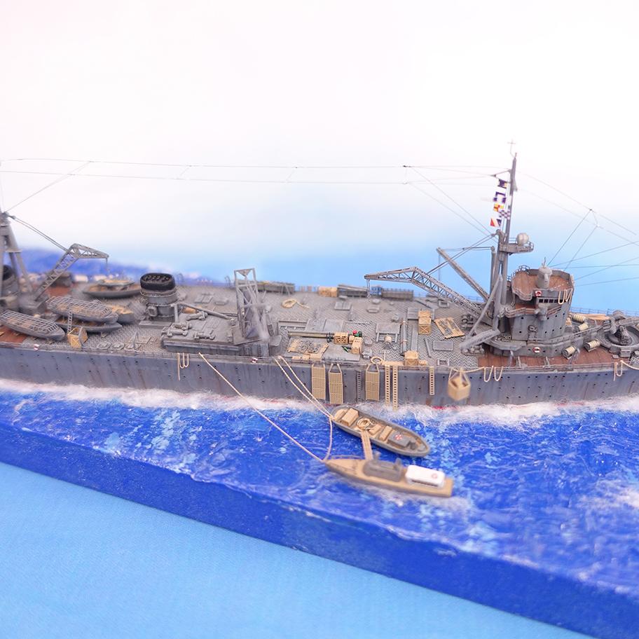 Diorama 1/700e Akashi18