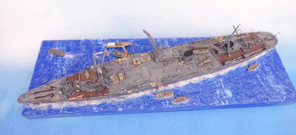 Diorama 1/700e Akashi20