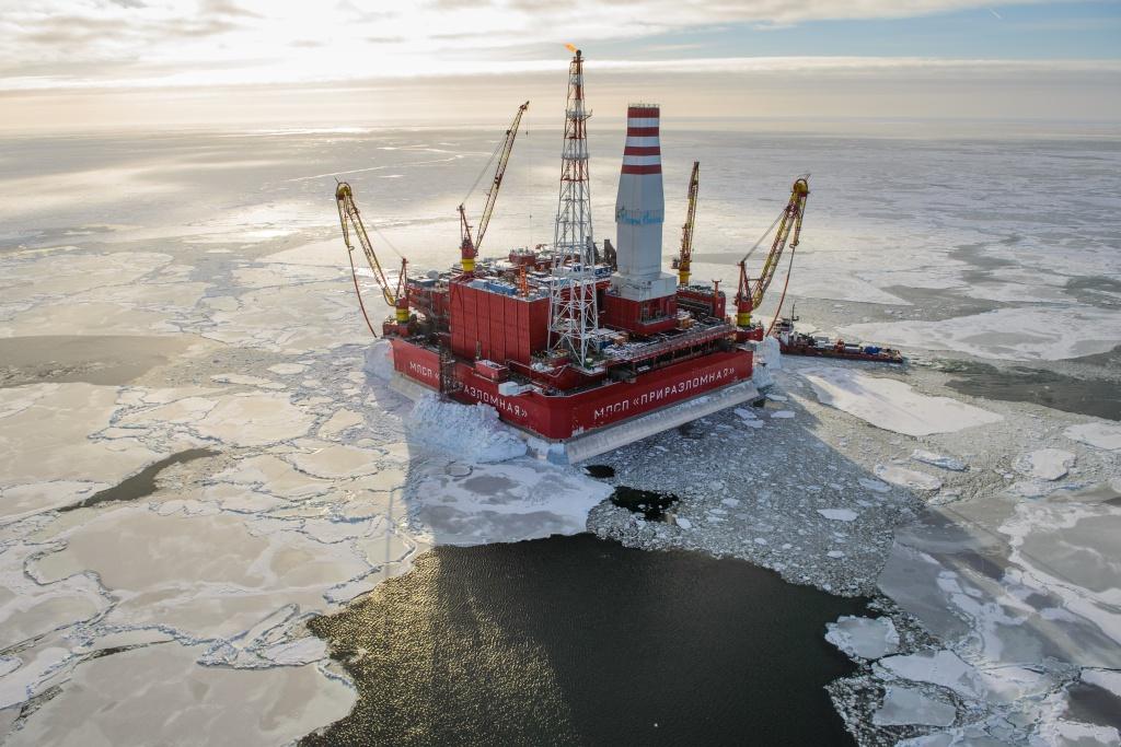 Plate-forme pétrolière à l'épreuve des glaces du monde Arton810