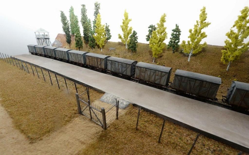 Camps d exterminations au 1/87 Auschw18