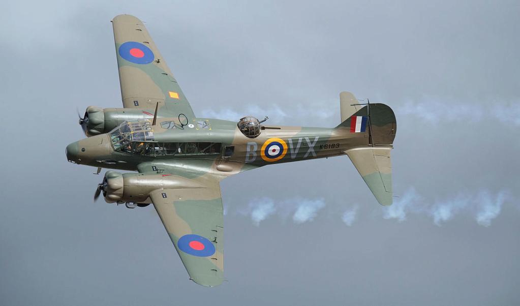 Zone de crash bombardiers et autres Avro_a10