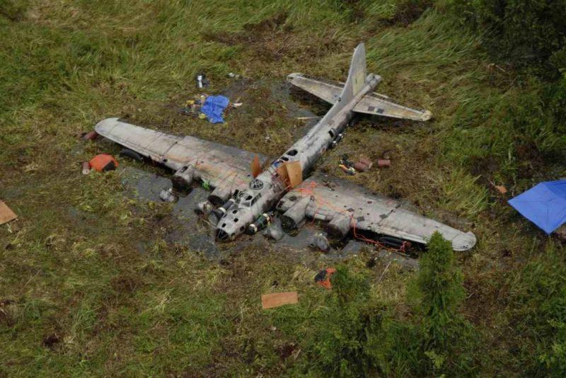 Epaves B-17 en Papouasie Nouvelle Guinee B-17_p12