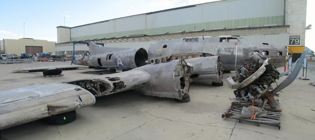 Epaves B-17 en Papouasie Nouvelle Guinee B-17e-10