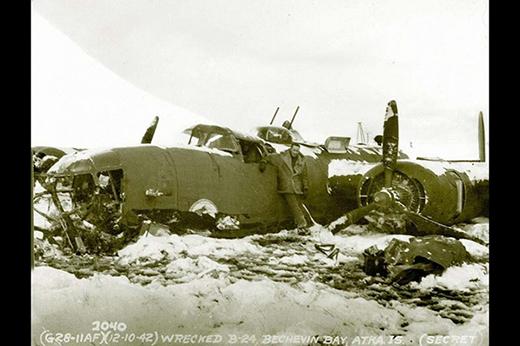 Zone de crash bombardiers et autres B-24_110