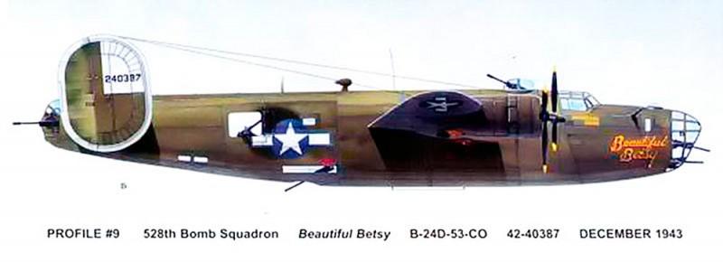 "B-24  ""Beautiful Betsy"" Beaube10"