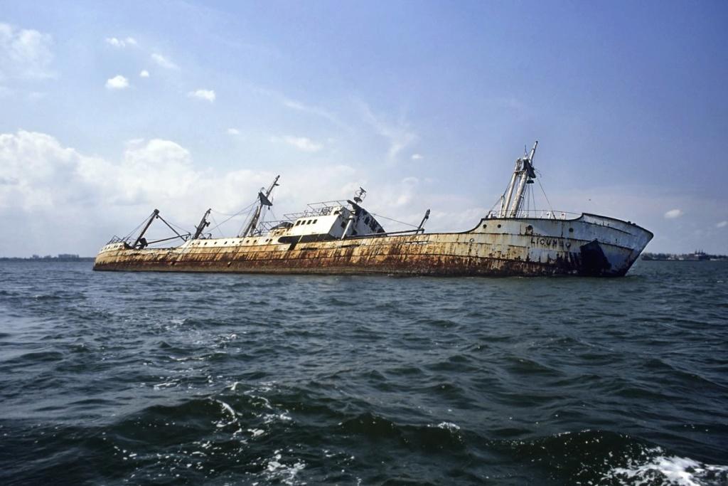 Les plus grands cimetieres de navires du monde - Page 2 Beira_16