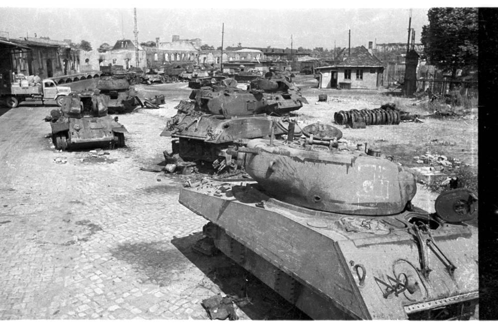 Les photos de Cecil F. S. Newman a Berlin 1945/46 Berlin46