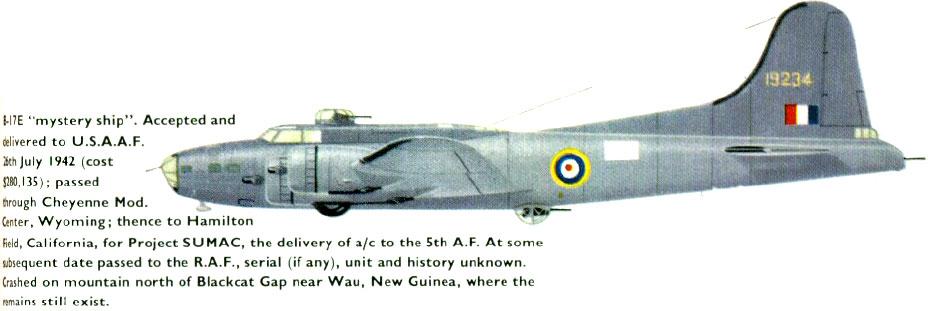 Epaves B-17 en Papouasie Nouvelle Guinee Black_11