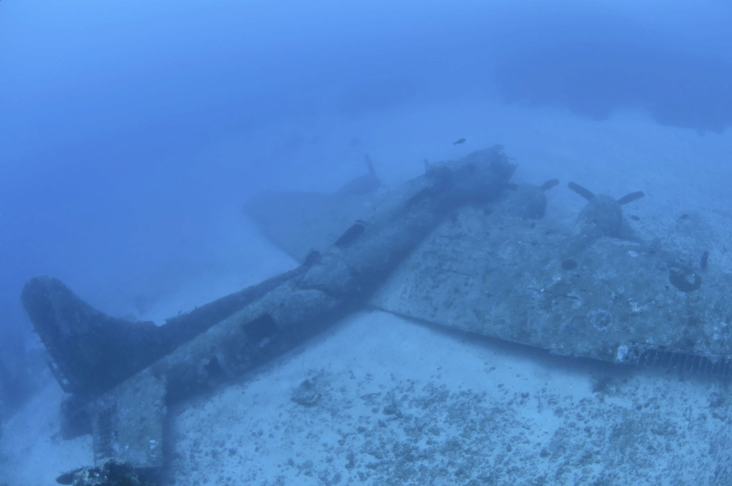 Epaves B-17 en Papouasie Nouvelle Guinee Black_14