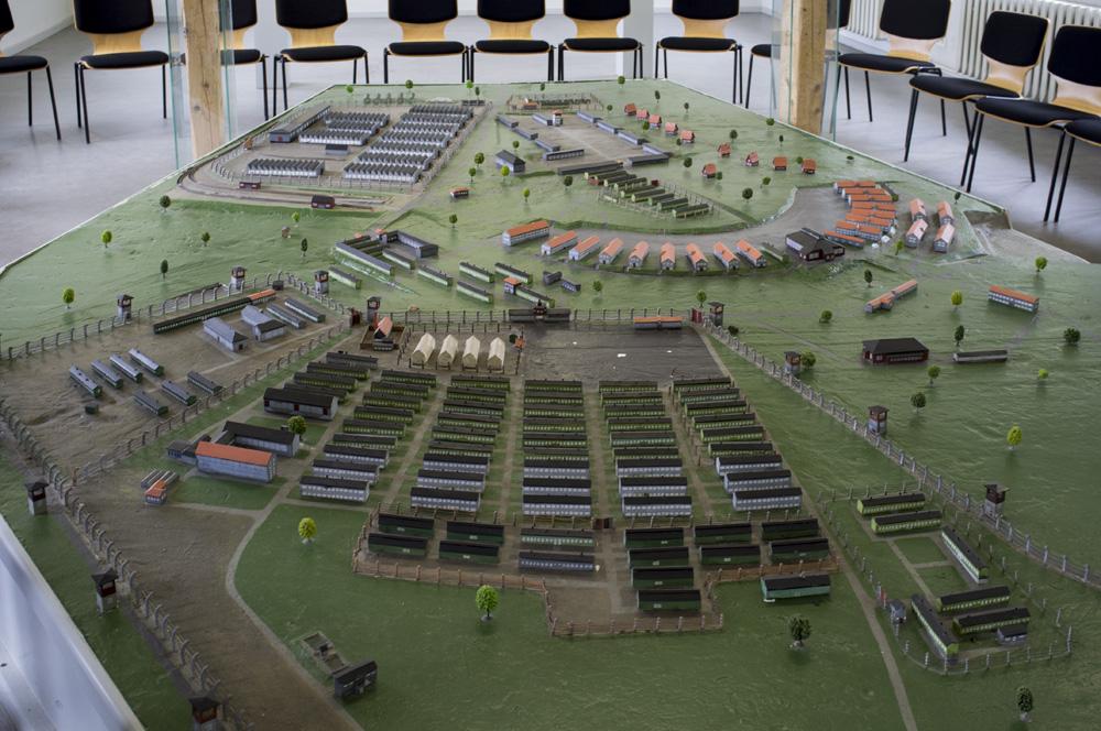 Camps d exterminations au 1/87 Buchen10