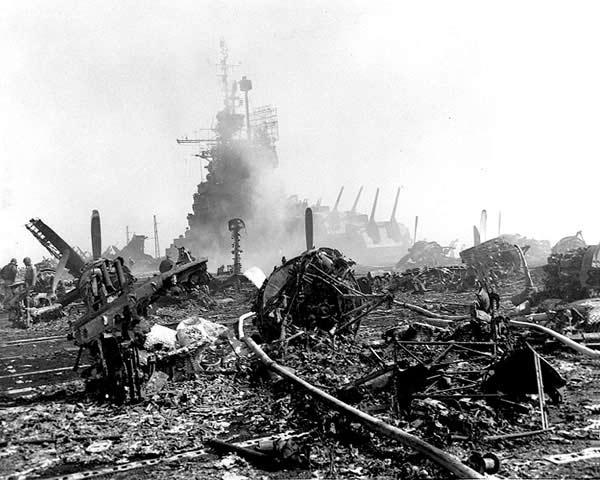 Porte-avions US et Kamikazes - Page 2 Bunker11