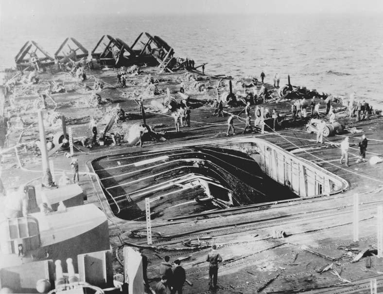 Porte-avions US et Kamikazes - Page 2 Bunker12