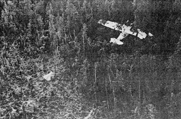 Zone de crash bombardiers et autres Canso410