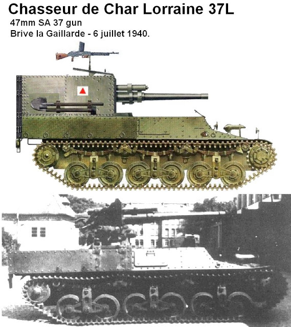 Canon fixe sur chassis de char - Page 2 Chasse10