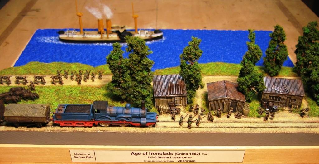 Les dioramas d autres epoques de Carlos Briz China10