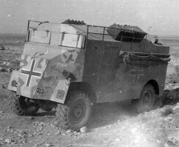 Les vehicules de Commandement de Rommel Comman11