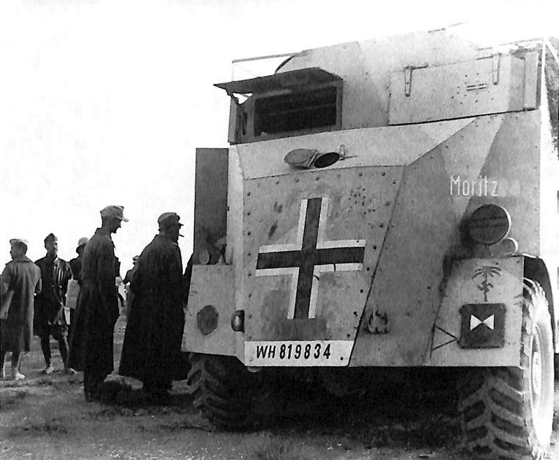 Les vehicules de Commandement de Rommel Comman12