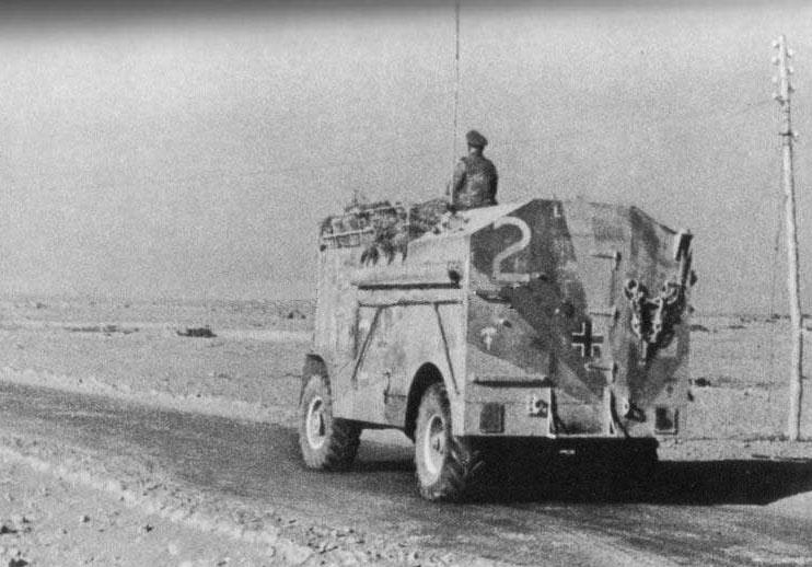 Les vehicules de Commandement de Rommel Comman14