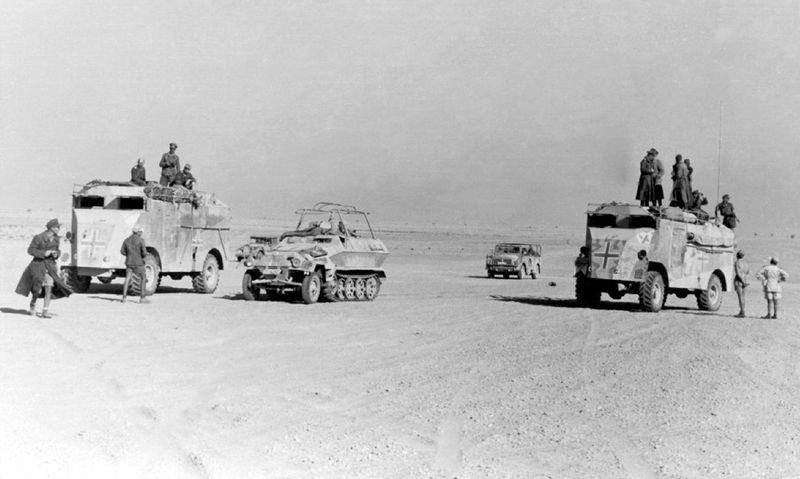 Les vehicules de Commandement de Rommel Comman15