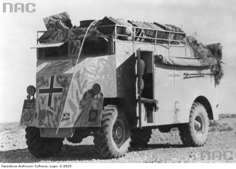 Les vehicules de Commandement de Rommel Comman16