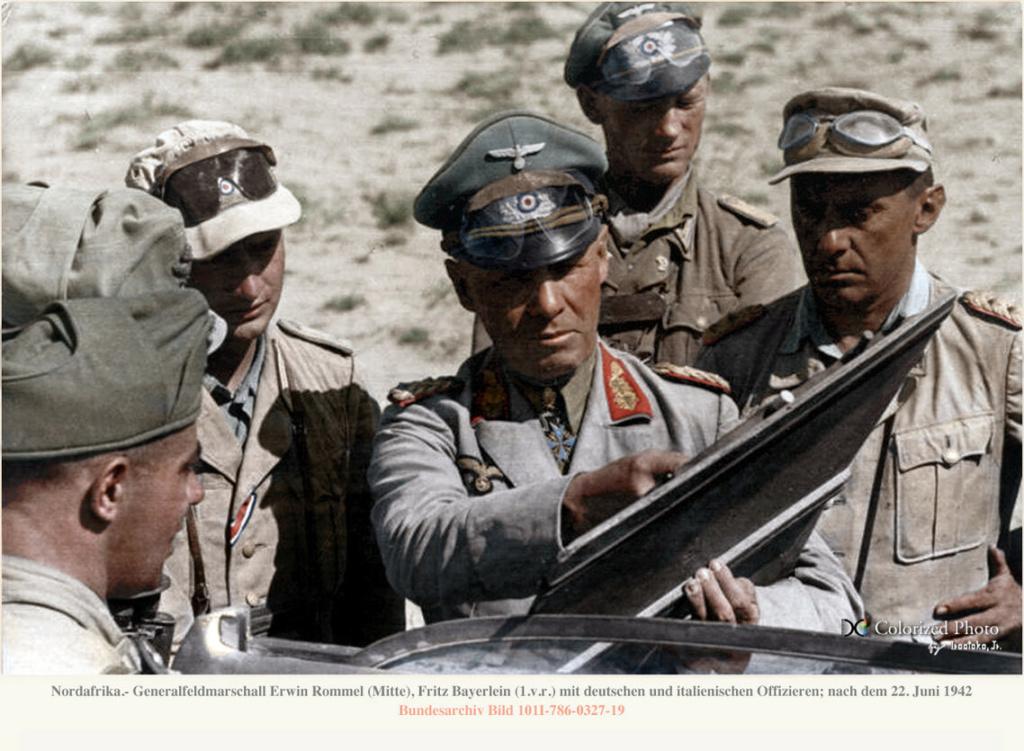 Les vehicules de Commandement de Rommel Comman17