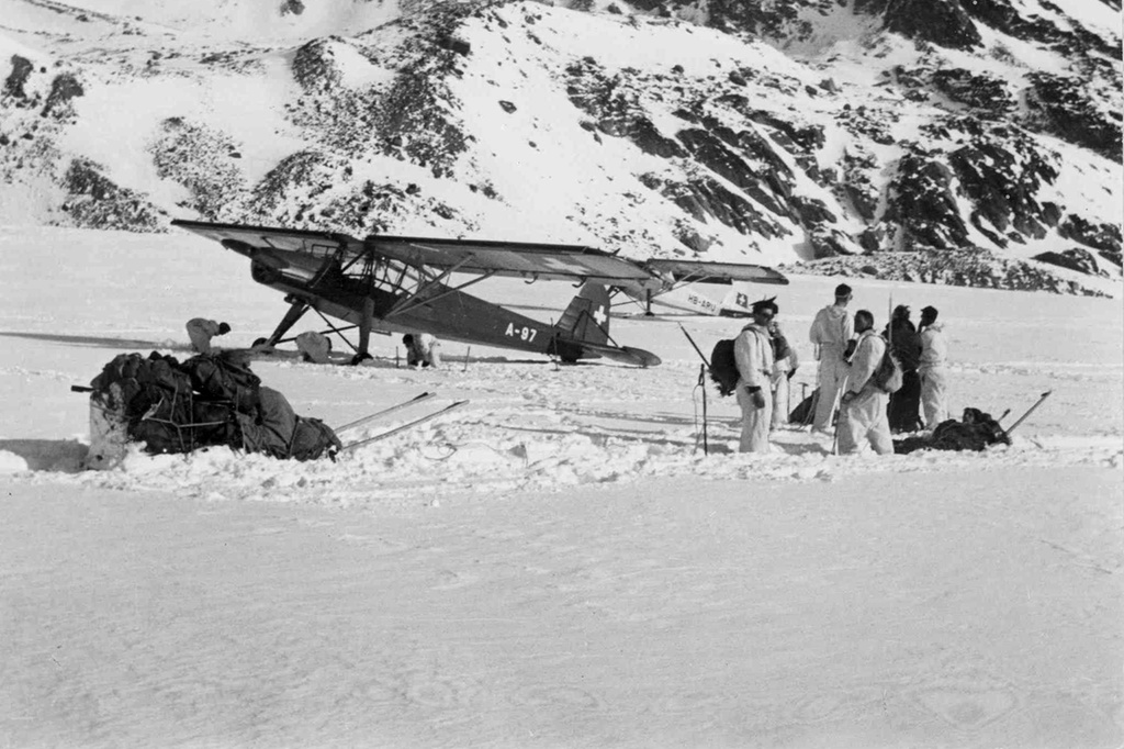 Zone de crash bombardiers et autres Dak410