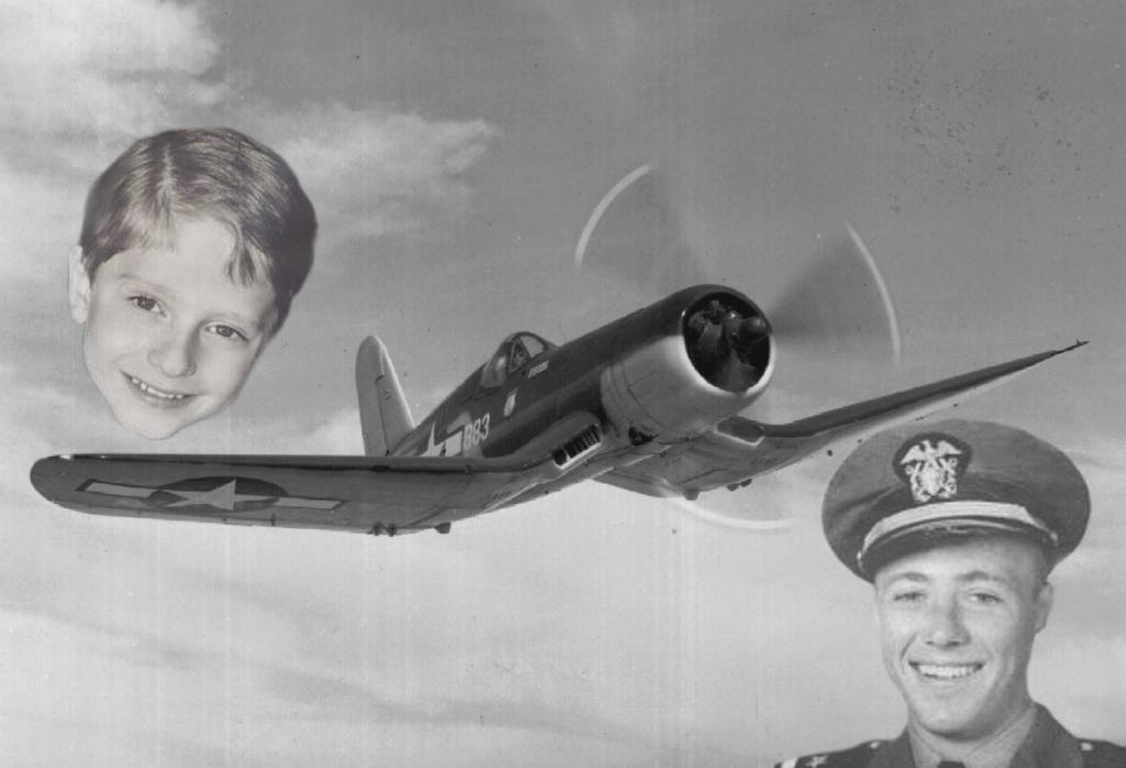 La reincarnation d un pilote de Corsair El-cas10