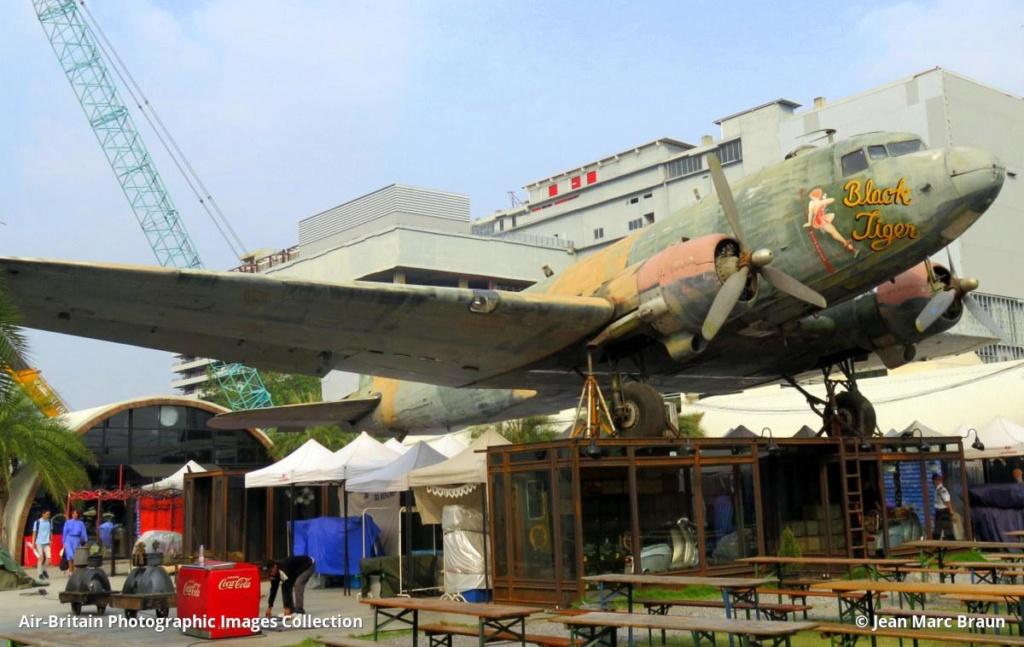 Epaves vieux avions en Thailande Flea_m10