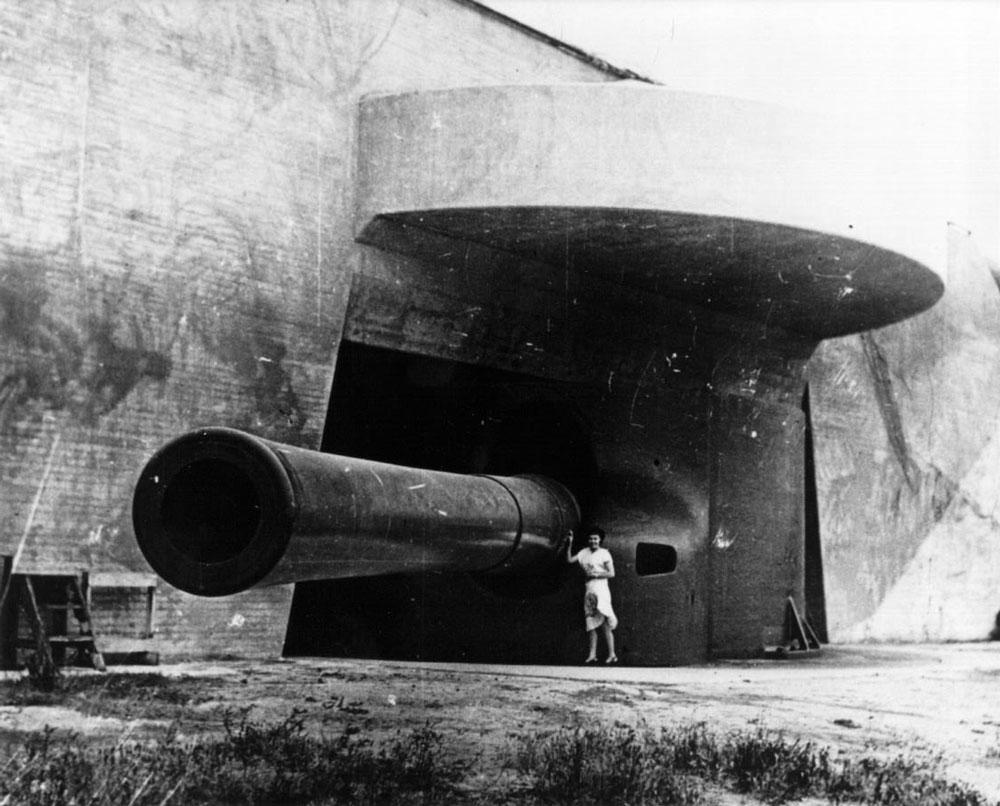 Artillerie cotiere lourde US dans le pacifique Fort_r10