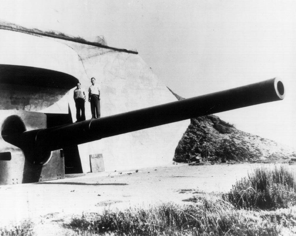 Artillerie cotiere lourde US dans le pacifique Fort_r11
