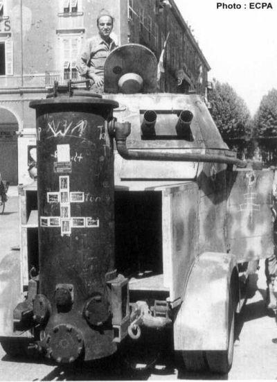 Vehicules recuperes par les FFI -1944 Gazo10