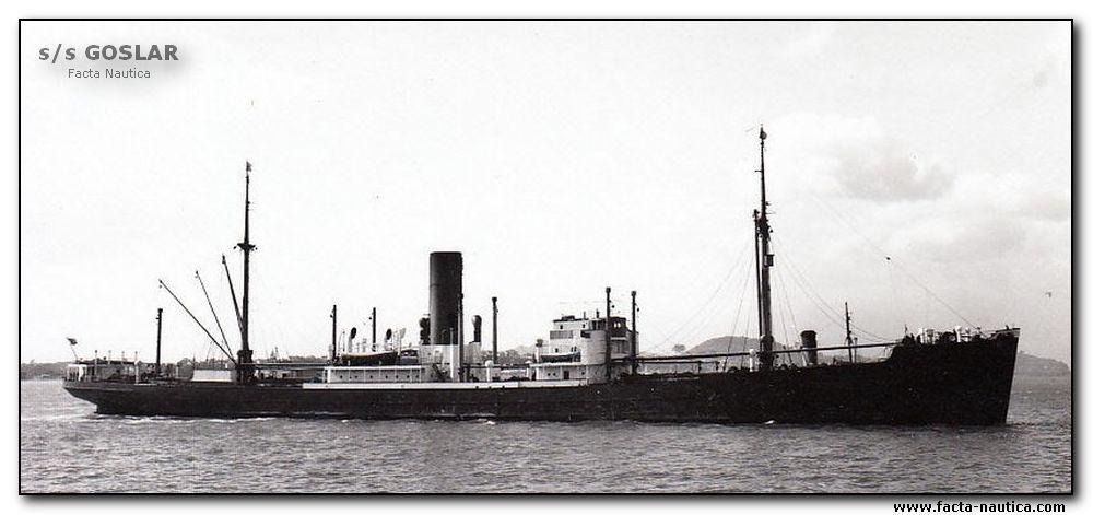 Cargo allemand saborde au Suriname 1940 Goslar10