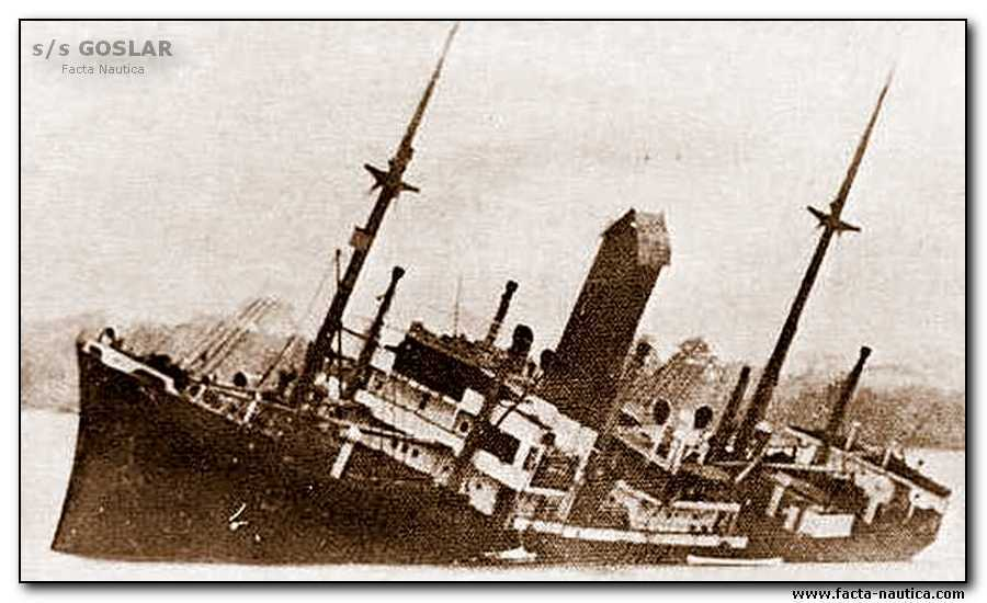 Cargo allemand saborde au Suriname 1940 Goslar11