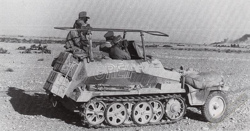 Les vehicules de Commandement de Rommel Greif110
