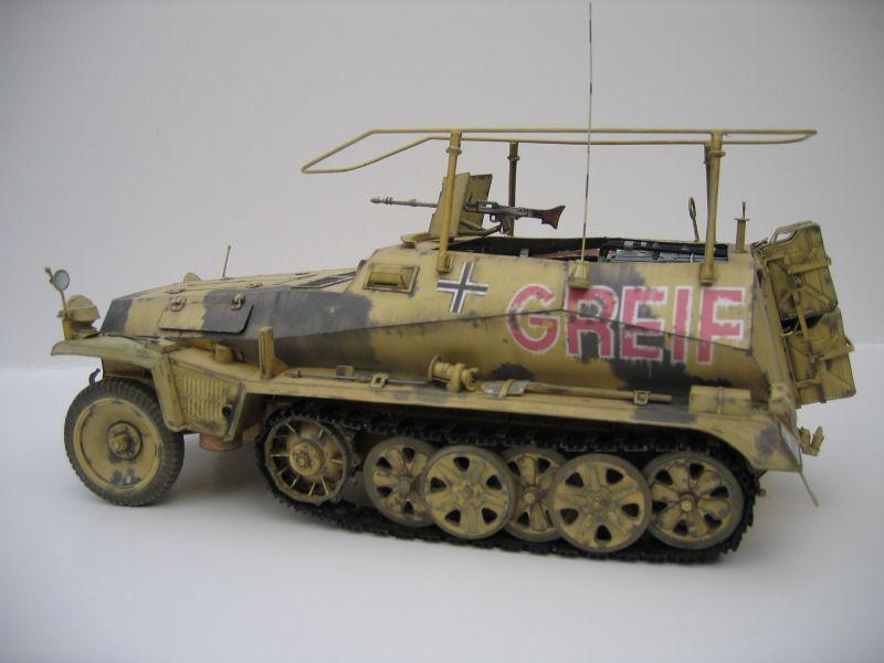 Les vehicules de Commandement de Rommel Greif210