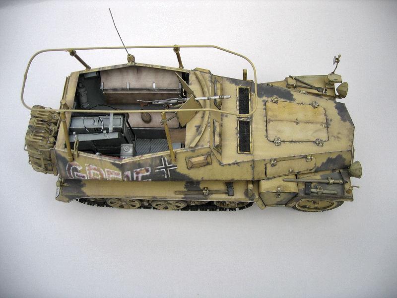 Les vehicules de Commandement de Rommel Greif211