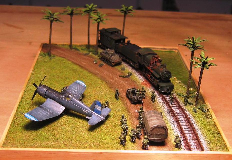 Les dioramas d autres epoques de Carlos Briz Hondur11