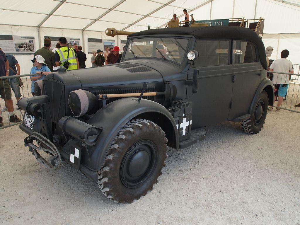 Les vehicules de Commandement de Rommel Horch_13