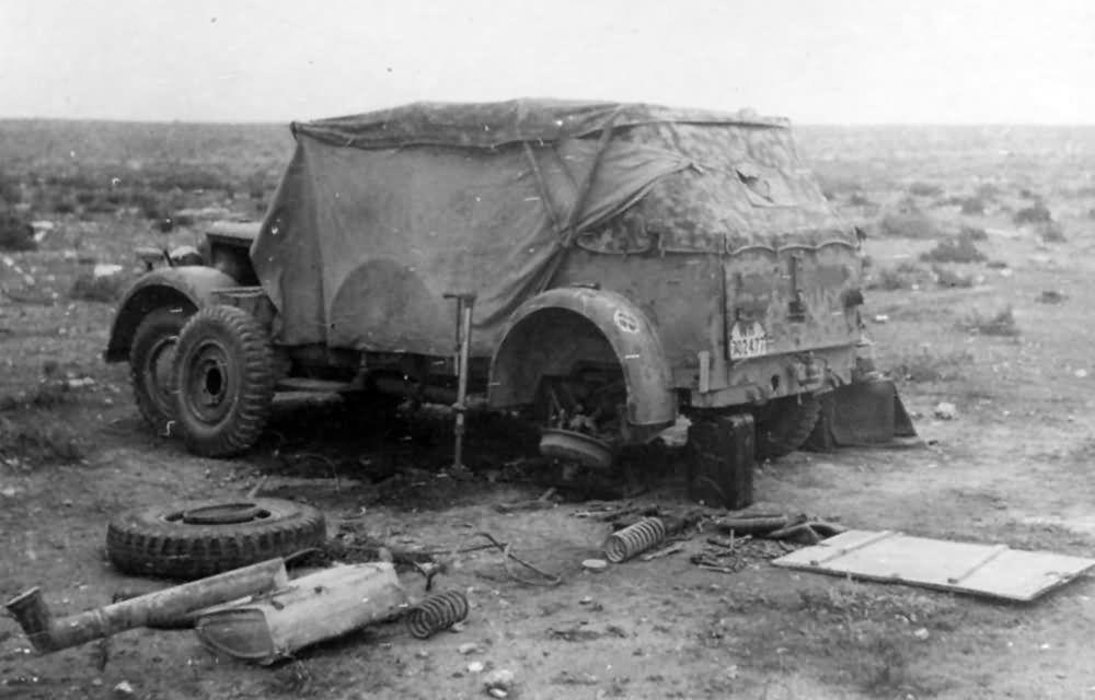 Les vehicules de Commandement de Rommel Horch_14