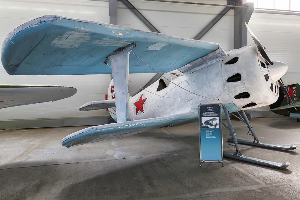 Musée de l'aviation de la flotte du Nord I-15bi10